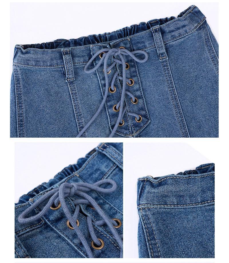 girls jeans skirt G2078-13