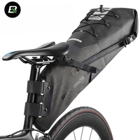 Rockbros MTB Road Bike Bag High Capacity Waterproof Bicycle Bag Cycling Rear Seat Saddle Bag Bike