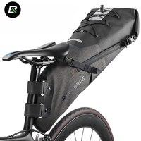Rockbros MTB Road Bike Bag High Capacity Waterproof Bicycle Bag Cycling Rear Seat Saddle Bag Bike