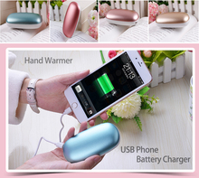 Cell Cellphone Battery Charger 4000mAh Energy Financial institution Rechargeable Macaron Heated Hand Hotter Winter