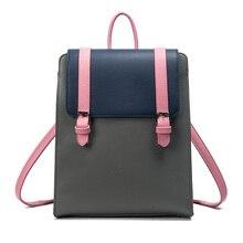 Heißer Verkauf Sommer Neue Schulter Rucksäcke Retro Britischen Damen Getäfelten Rucksäcke Beiläufige Art Und Weise Pu Leder Kunst Reisetaschen BP021