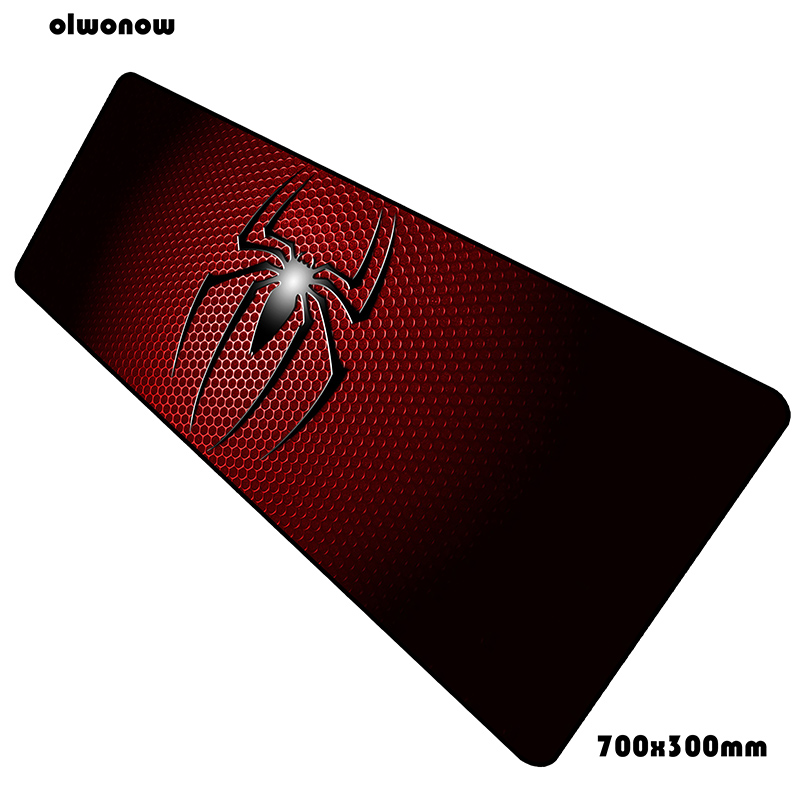 Spider-Man Padmouse New Arrival 700x300x2mm Pad Mouse Notbook Computer Mouse Pad Locked Edge Gaming Mousepad Gamer Mouse Mat