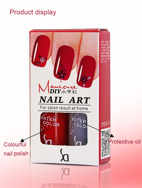 2pcs 2016 New Fashion Wholse Gel Nail Polish Professional Nail Gule Matte Nail Polish Tearing Nail Glue UV Gel