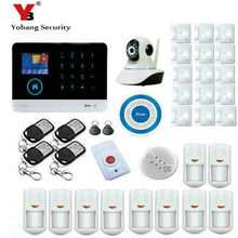 YobangSecurity WIFI 3G Wireless Alarm System Support Android/IOS Phone APP Control SIM Card Home House Security System 3G panel