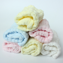 1pcs Newborn Bibs&Burp Cloths 6 Layers Comfotable Cotton Toddler Wash Face Towel Multi-purpose Soft Gauze Square 28*28cm