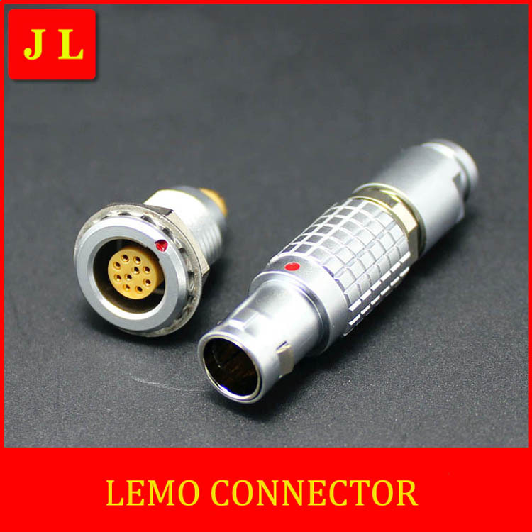LEMO  FGG.0B.310.CLAD /EGG.0B.310.CLL Circular metal plug self-locking connector,LEMO connector B series