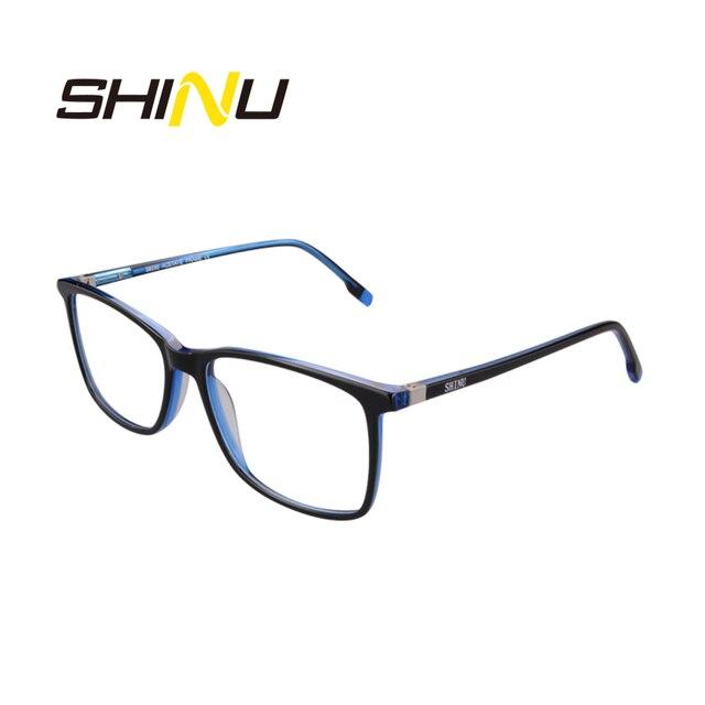 Hohe Qualität Acetat Progressive Lesebrille Frauen Männer Presbyopie Hyperopie Multifokale Brillen Dioptrien Brillen