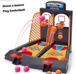 2016 Горячая настольная баскетбольная мини-игрушка на палец, детская корзина, настольные игры, двойная игра, игрушка для взаимодействия, моде...