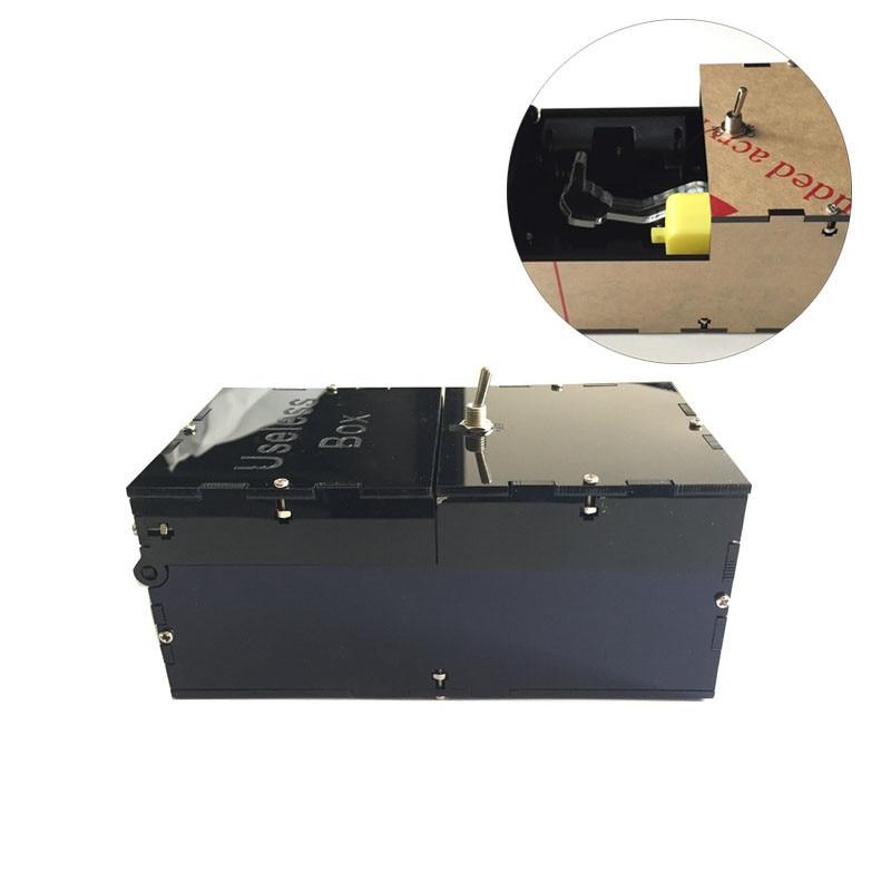 Новый творческий черный бесполезный Box Игрушки-приколы смешно DIY Игрушечные лошадки Leave Me Alone коробкой для мальчика/подруга Подарки на Новый год игрушка