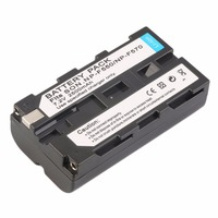 NEW 7 2V 2500MAH Replacement Li Ion Battery For Sony NP F330 550 570
