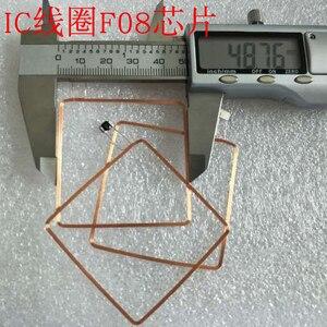Image 3 - 13.56MHz HF COB i antena IC cewka spawalnicza domowe Fudan F08 chip zawieszki RFID 49*49*0.3mm 14443A
