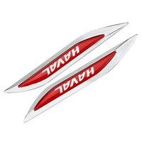 3D Metal Car Door Fender Side Emblem Badge Rear Trunk Sticker For Great Wall Haval M1