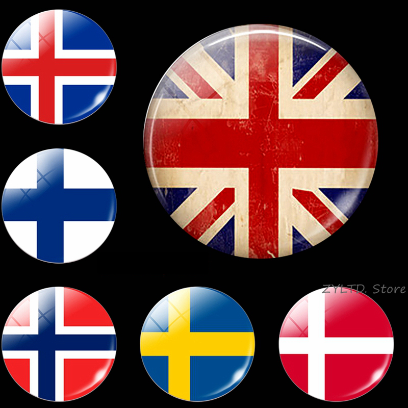 MAGNET Norway Flag Magnetic Sticker norwegian car decal