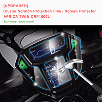 UPGRADED For HONDA AFRICA TWIN CRF1000L Cluster Scratch Protection Film Screen Protector Blue Light Explosion