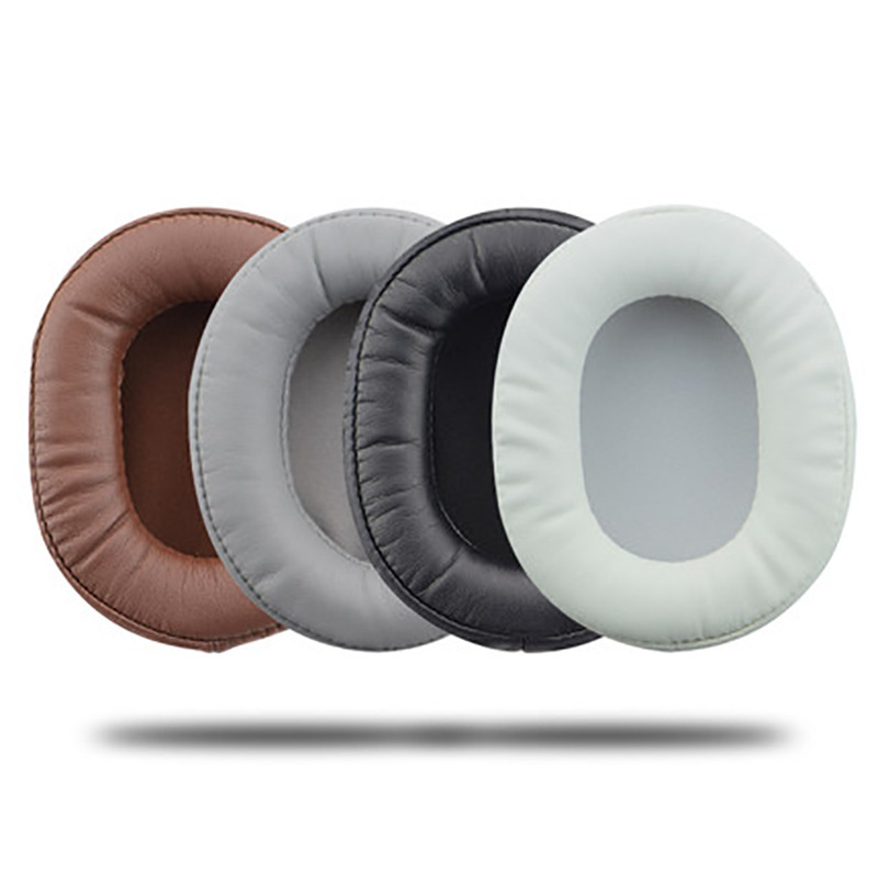 Foam Ear Pads Cushions Protein Skin For Audio-Technica ATH-MSR7 M50X M20 M40 M40X SX1 For Sony Headphones High Quality 12.5