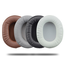 Foam Ear Pads Cushions Protein skin for Audio Technica ATH MSR7 M50X M20 M40 M40X SX1 for Sony Headphones High Quality 12.5