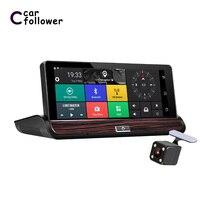 Car DVR 3G Wifi Full HD 1080P 7 IPS ADAS Dash Cam Android 5.0 GPS Navigation Registrars Cam Recorder Dual Lens Car Camera