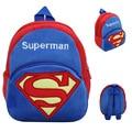 Kawaii Superman Niño Mochila De Peluche Niños Del Bolso de Escuela De La Muchacha Del Muchacho Estudiante Schoolbag Lindo Bebé Mini Bolsas de Regalo de Navidad