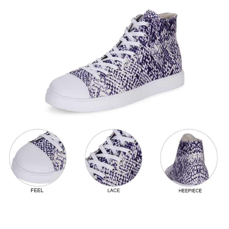 Bottes Dames Femme Sneakers Costomized forme bleu rose Toile Nouvelles Cusual Étudiants Marque or 1pc Zapatos Impressions top Hip De blanc Mujer Drôle Plate Chaussures Luxe pXwqp8OAfx