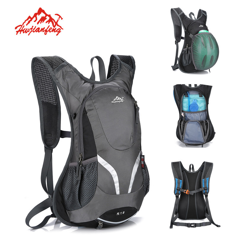 15l Breathable Cycling Running Backpack For Bicycle Outdoor Road Ride Pack Travel Bike Packsack Hydration Water Bag Ultralight