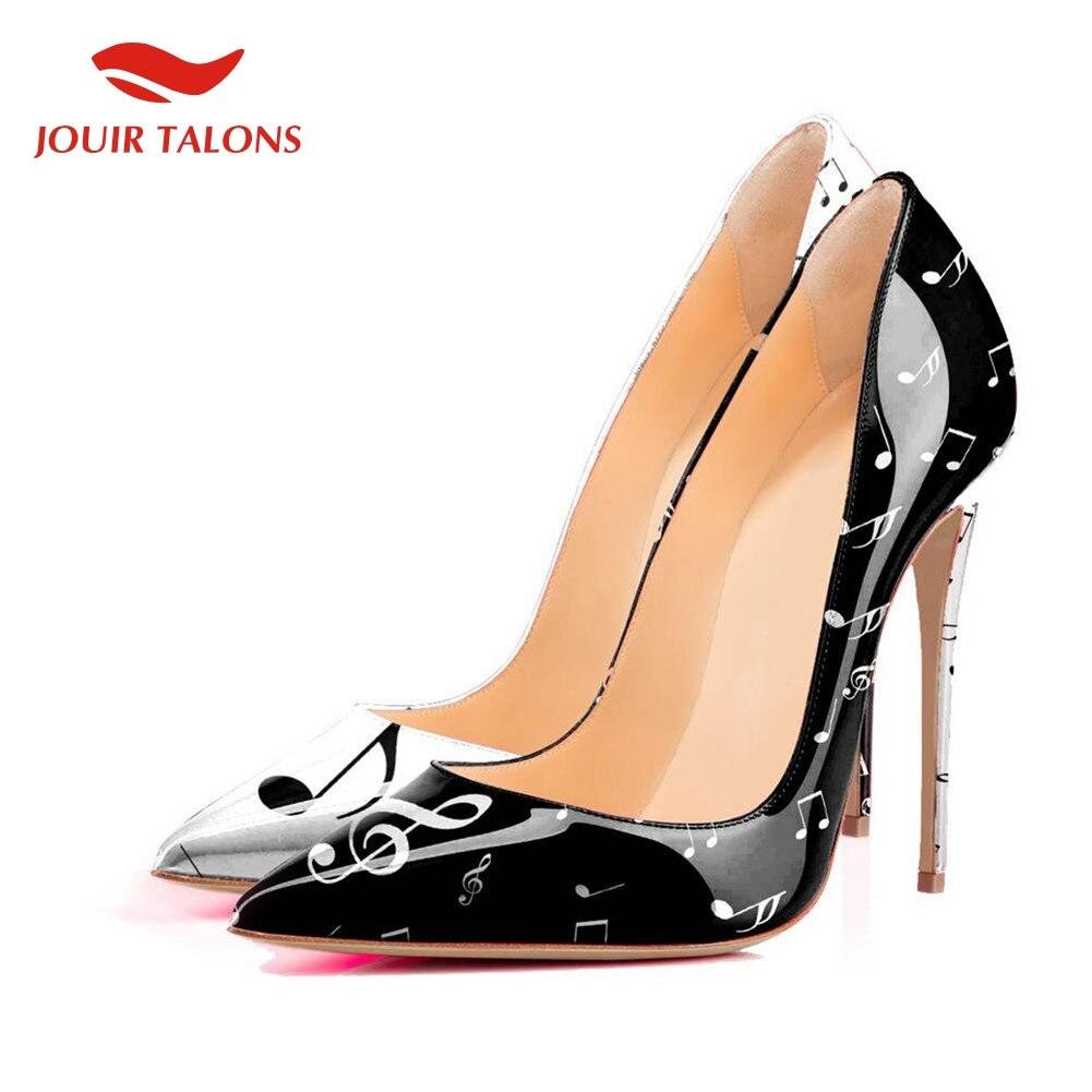 2019 marque Design femmes chaussures grande taille 45 Sexy élégant talons hauts pompes parti chaussures femme
