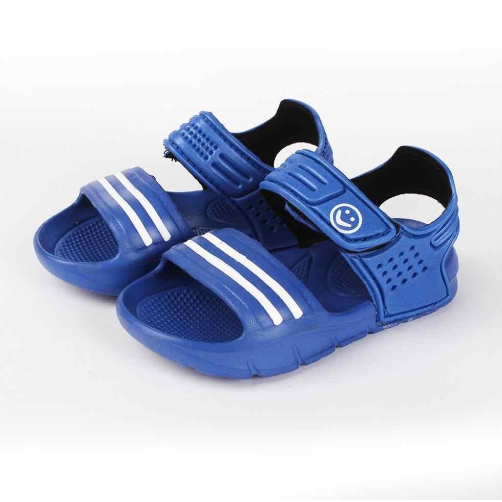 Nova Verão Fresco Do Bebê Meninas Meninos Sandálias Calçados Infantis Crianças Sapatos Slip-resistente-resistente ao Desgaste