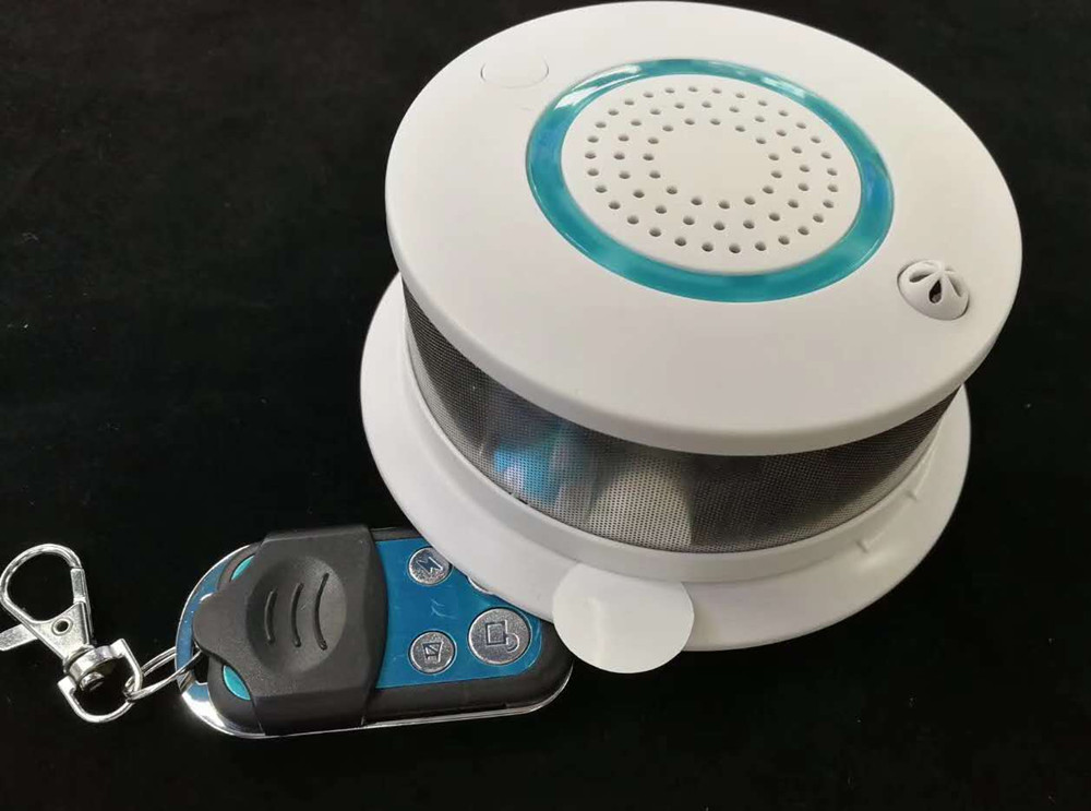 Wireless Remote Control WIFI Smoke Sensor