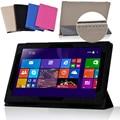 Мода Ультра Тонкий Флип Кожа PU Стенд Чехол Для Lenovo Miix 300 10IYB Windows Tablet 10.1 дюймов магнитный Защитный случае