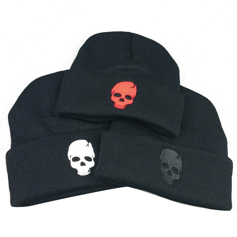 ca941cd92b72c ... Winter Skull Caps For Men  Men s Winter Skull Beanies Hats For Men Women  Winter Knit