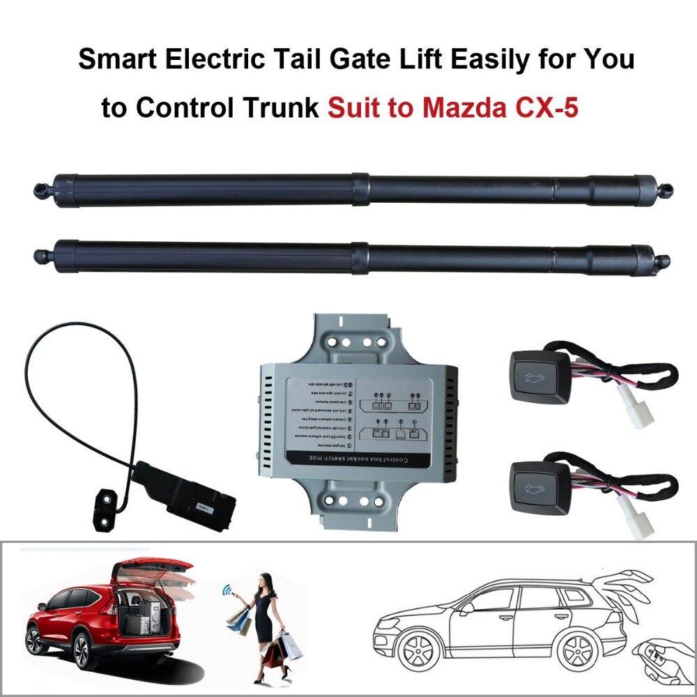 Inteligente Auto eléctrico cola Puerta de ascensor para Mazda CX-5 CX5 2015 2016 Control de altura evitar pellizcar de succión eléctrica