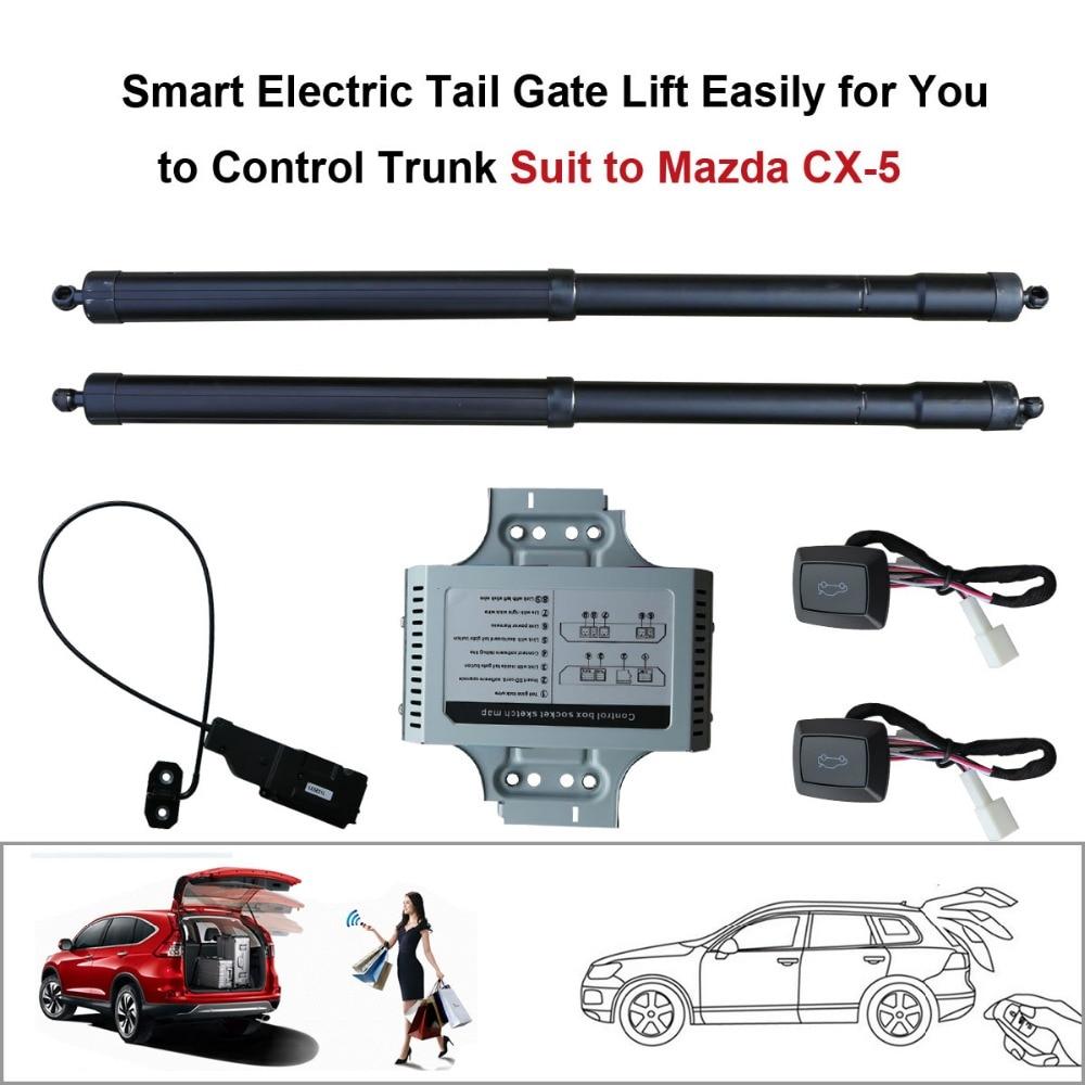 Smart Auto Elettrica di Coda Porta di Sollevamento per Mazda CX-5 CX5 2015 2016 Set di Controllo di Altezza Evitare Pizzico di aspirazione elettrico
