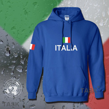 Italy Italia hoodie men sweatshirt polo sweat suit hip hop streetwear footballer jersey cotton tracksuit nation Italian flag ITA