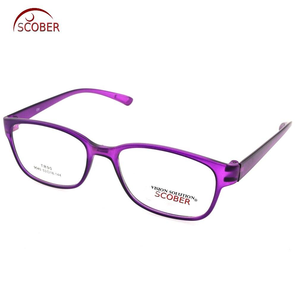 7f0d3680cd2a18 Scober   tr90 ultra-léger violet dame cadre spectacle custom made  prescription lentille myopie lecture lunettes photochromiques