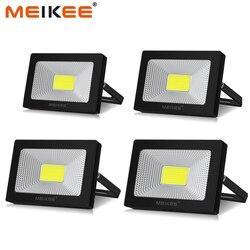 10W 20W 30W 50W zewnętrzne światło halogenowe LED AC110V 220V wodoodporne reflektory LED reflektor zewnętrzny reflektor lampa projektora w Reflektory od Lampy i oświetlenie na