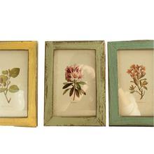 Nuevo Vintage foto Marco de decoración de casa de madera Retro boda recomendación fotos de pantalla adorno de regalo