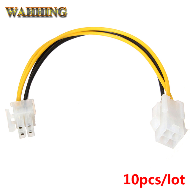 4 pin motherboard power supply adapter extension cable