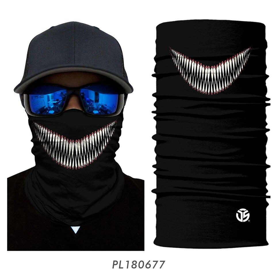 3D Balaclava Venom Motorcycle Mask 18