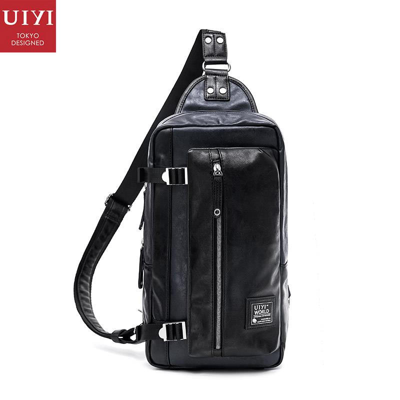 ФОТО UIYI Brand Design Handbag Men PU Leather Casual Korea Style Crossbody Messenger Bag Male Quality Sling Satchel Bags 160115