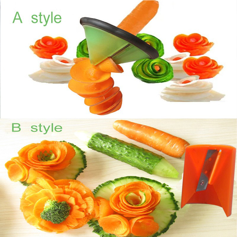 Cooking Tools Kitchen Gadget Creative fruit Vegetable Peeler slicer Grater Carve