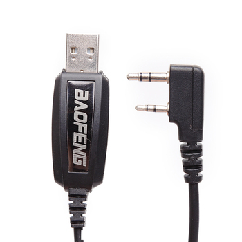 Original baofeng usb programming cable with driver cd for baofeng dm-5r uv-5r bf-888s uv-82 gt-3 uv b2 plus walkie talkie