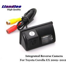 Liandlee For Toyota Corolla EX 2009~2012 Car Rear View Backup Parking Camera Rearview Reverse Camera / SONY CCD HD Integrated new high quality rear view backup camera parking assist camera for toyota 86790 42030 8679042030