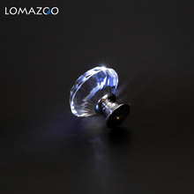 Crystal Glass Knobs 20-40mm Diamond Shape Design Cupboard Drawer Pull Kitchen Cabinet Door Wardrobe Handles Hardware Furniture