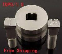 新しいレゴ打ち抜き金型金型スタンプtdp0/1.5/5用キャンディタブレットプレス型ピルメーカー