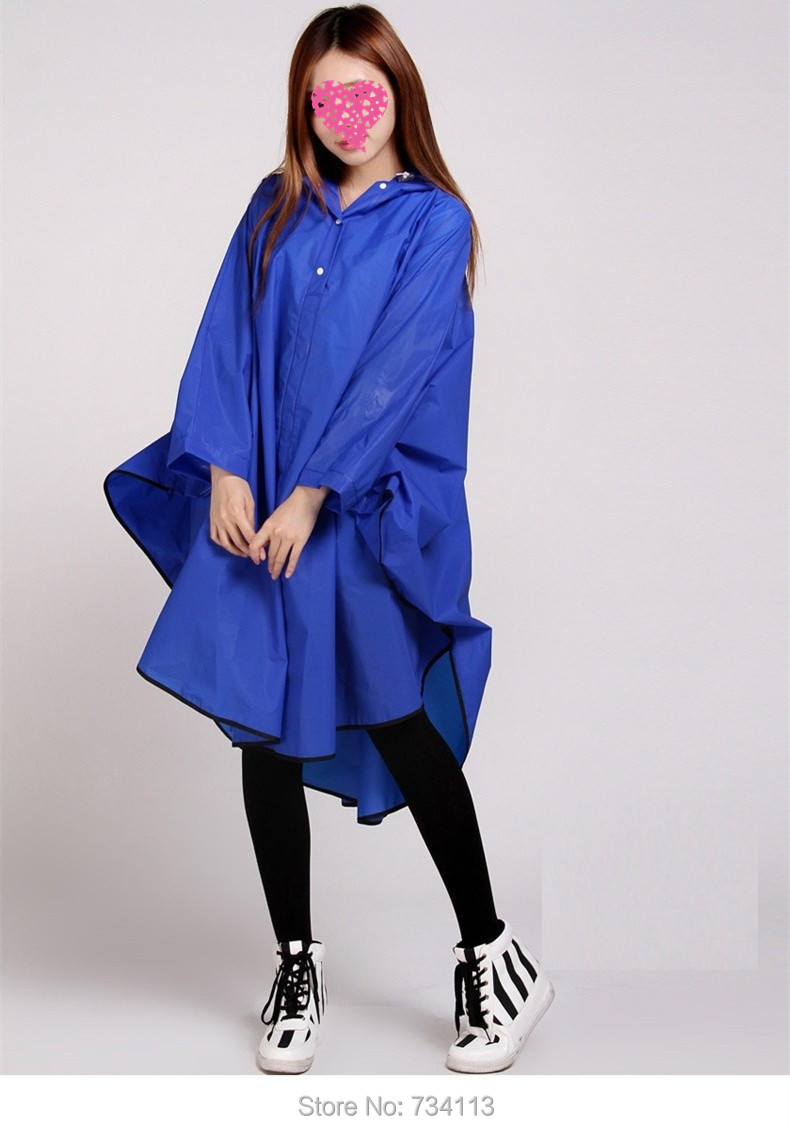Fashion Rain ponchoEnvironmental protection EVA outdoor Rain gear - Household Merchandises - Photo 3