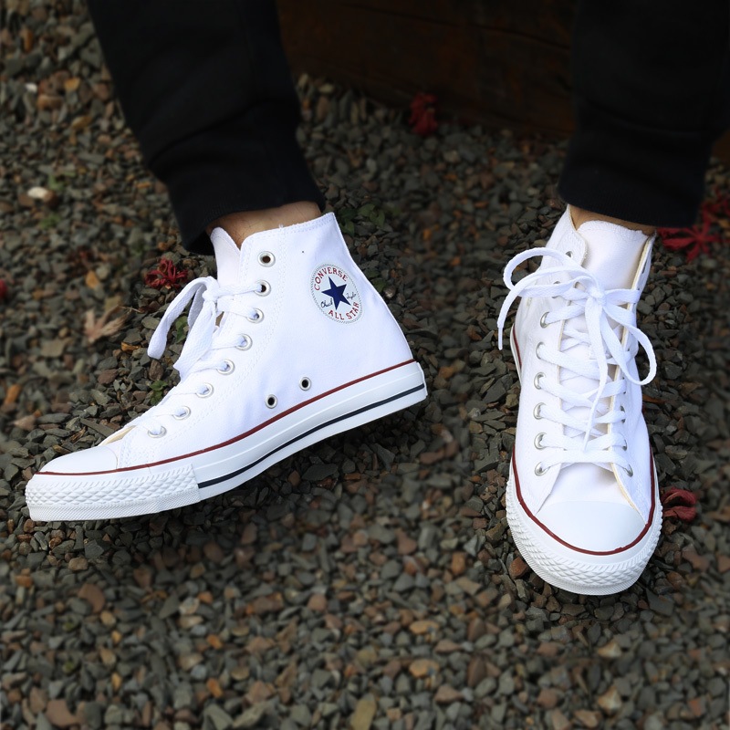 4361e73a463f Converse men s Skateboarding Shoes Original Classic Canvas High Top  comfortable non slip Sports Outdoor durable Women Sneaksers-in Skateboarding  from Sports ...