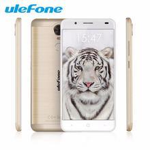 """Ulefone tigre 5.5 """"smartphone android 6.0 4200 mah grande batterie mt6737 quad core mobile téléphone d'empreintes digitales 4g lte débloqué otg"""