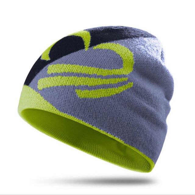 5905c01f0055a Winter Hats Wool Knitted Beanies Caps Soft Warm Ski Hat Watch Cap Sport  Running Hip Hop