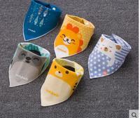 Bibs Baby Towels Baby Bibs Cotton Newborn Children Saliva Towel Snap Baby Bibs