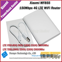 Wholesale Original 150Mbps Xiaomi 7800mAh 4G LTE Power Bank WiFi Router MF855 Support TDD And FDD