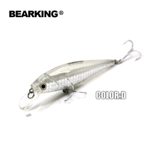 Retail fishing tackle  new model,Bearking perfect action minnow,78mm/9.2g, dive 0.8-1.2m suspending bait , 5 colors for choose
